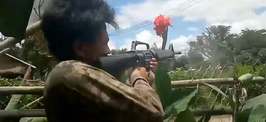 Myanmar'daki çatışmalarda 40 asker öldü