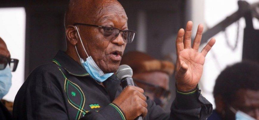 Güney Afrika eski cumhurbaşkanı Jacob Zuma tutuklandı