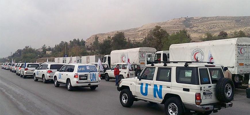 Suriye'ye insani yardımlar Türkiye üzerinden devam edecek