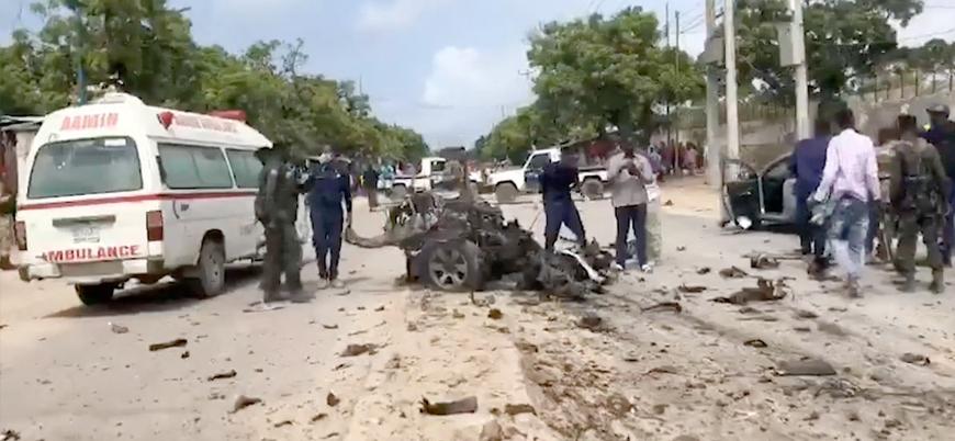 Mogadişu'da üst düzey askeri isme bombalı saldırı