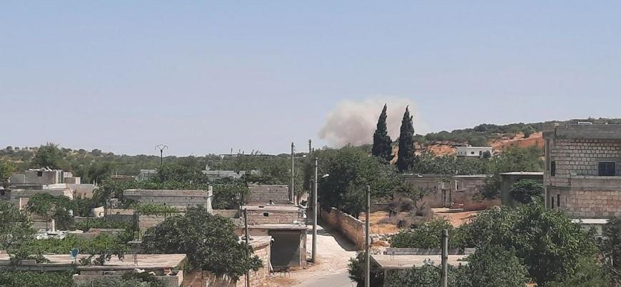 Rusya ve Esed rejimi İdlib'e yönelik saldırılara devam ediyor