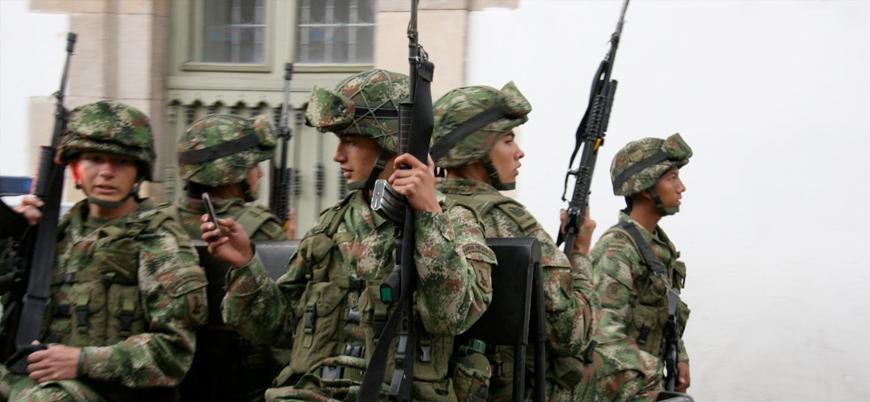 Venezuela'nın başkentinde çatışmalar: 10 Kolombiyalı milis öldürüldü