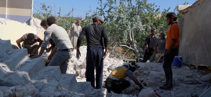 Rusya ve rejim İdlib'i vurdu: 8 sivil hayatını kaybetti