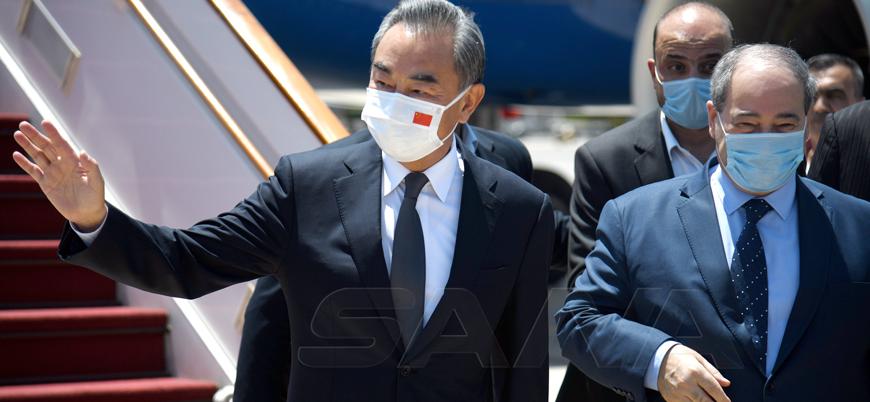 Çin Dışişleri Bakanı Suriye'de