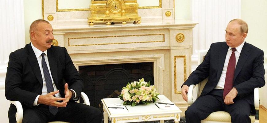 Aliyev ile Putin bir araya geldi