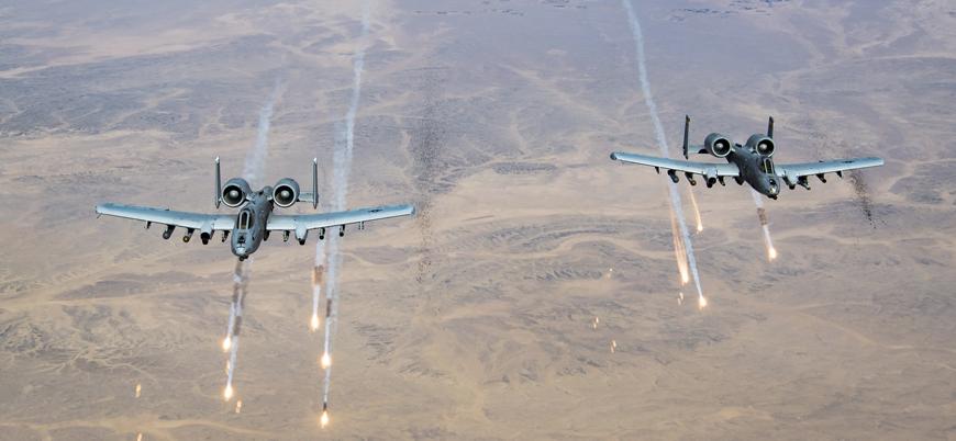 ABD'den Afganistan'da Taliban'a karşı hava saldırıları