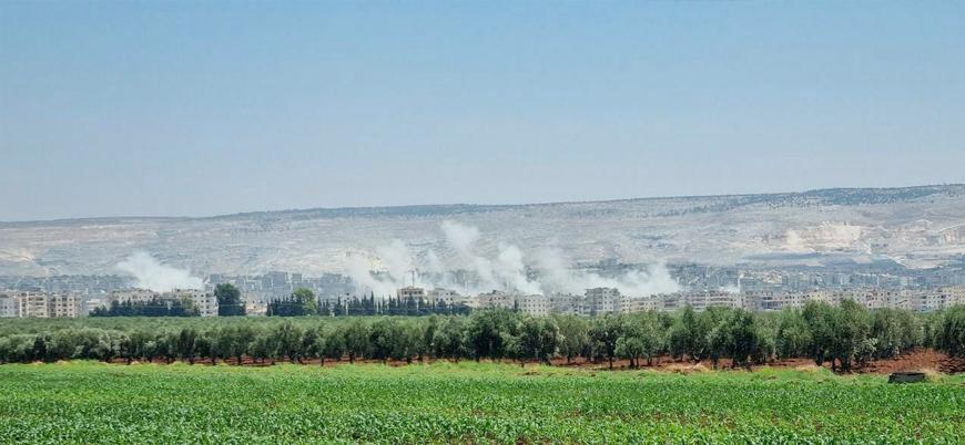 YPG Rusya kontrolündeki bölgeden Afrin'i bombaladı
