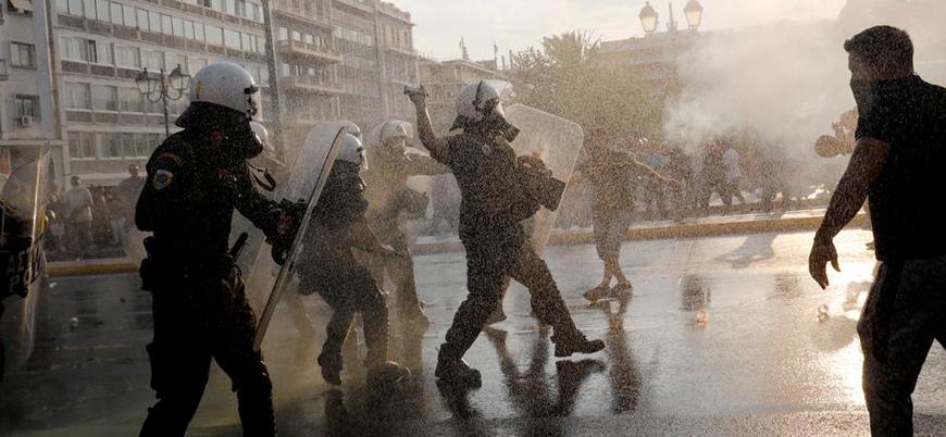 Avrupa'da koronavirüs protestoları yayılıyor