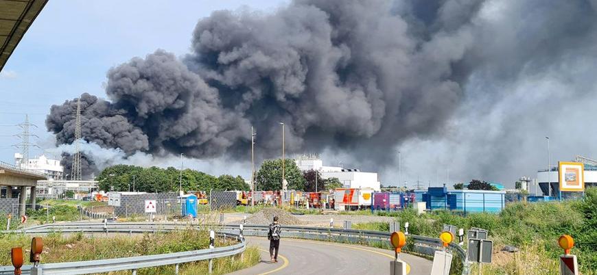 Almanya'da kimyasal tesiste patlama