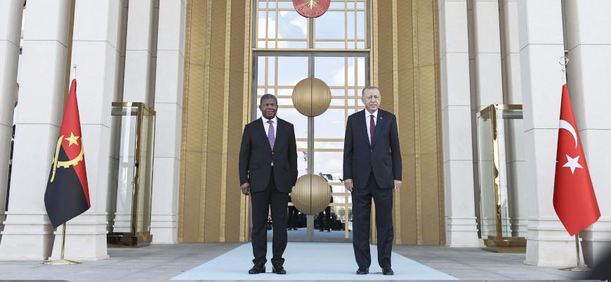 Erdoğan: Terörle mücadelede Angola'nın yanındayız