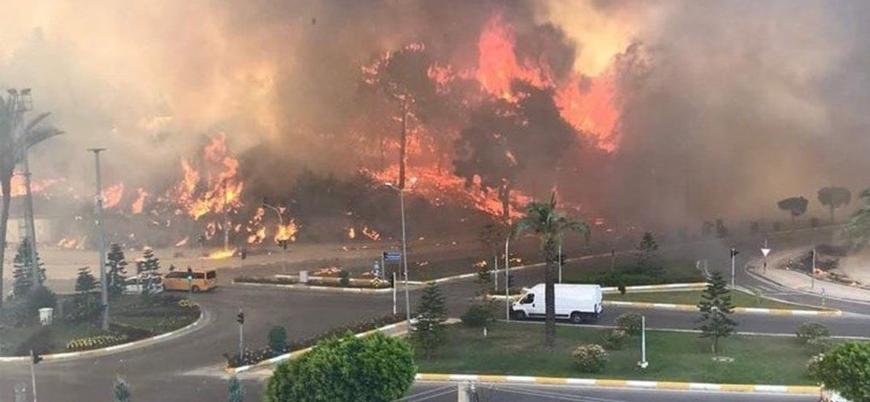 Türkiye orman yangınlarıyla boğuşuyor