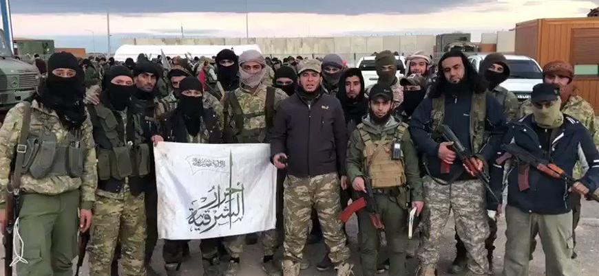 ABD'den Türkiye'nin desteklediği Ahrar el Şarkiye grubuna yaptırım