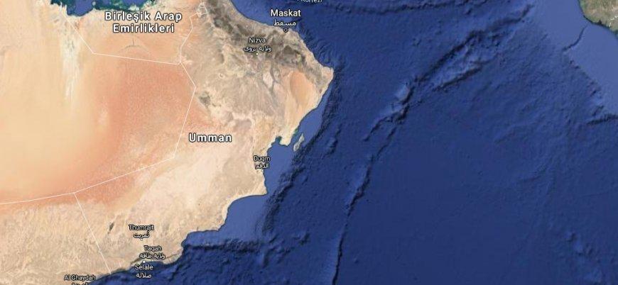 Umman açıklarında İsrail gemisine saldırı