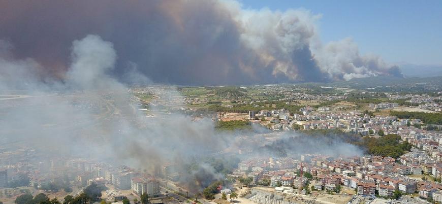 Manavgat yangınında 2 işçi hayatını kaybetti
