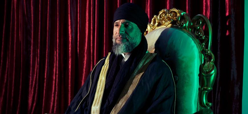 Oğul Kaddafi ilk kez ortaya çıktı