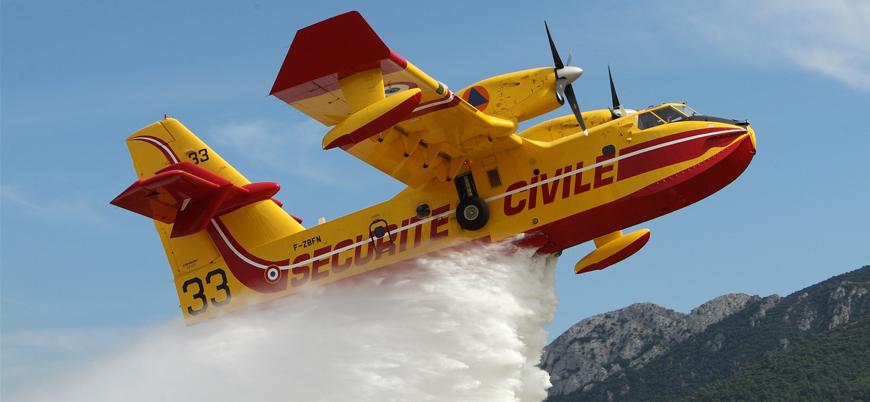 Avrupa Birliği Türkiye'ye 3 yangın söndürme uçağı gönderiyor