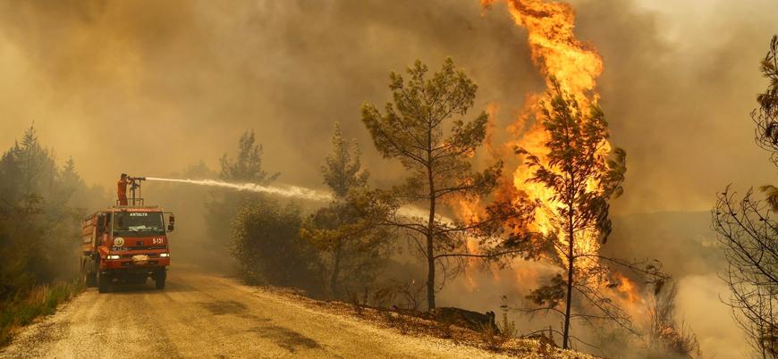 """Türkiye'de yangınlar: """"İsrail yardım teklifinde bulunmadı"""""""