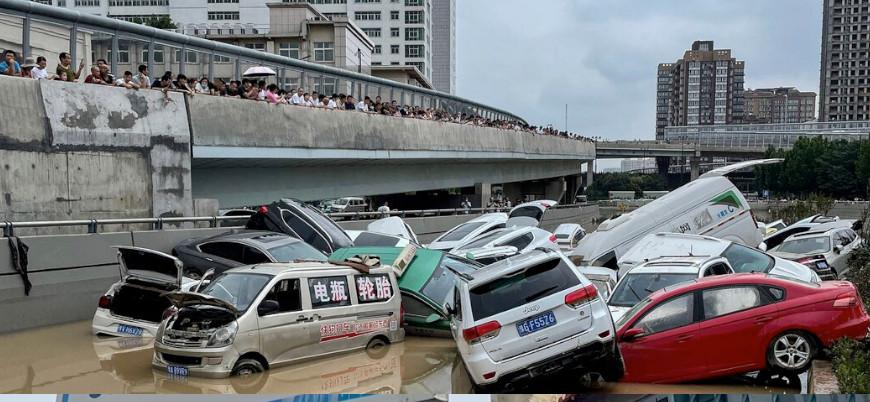 Çin'deki sellerde ölü sayısı 300'ü geçti