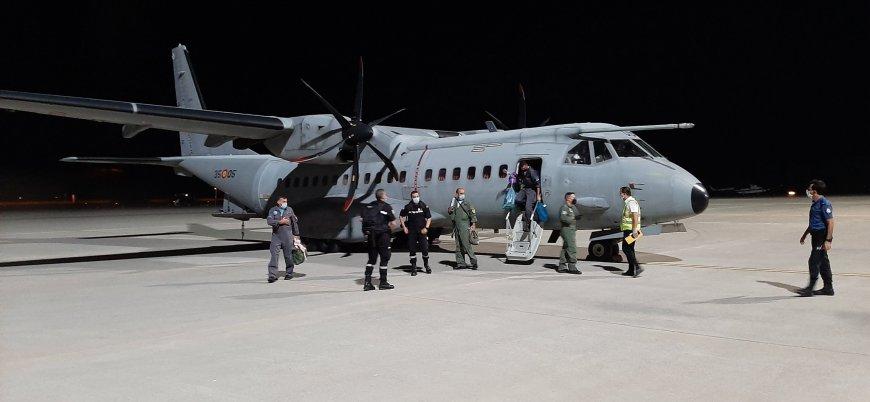 İspanya'nın gönderdiği iki yangın söndürme uçağı Türkiye'de