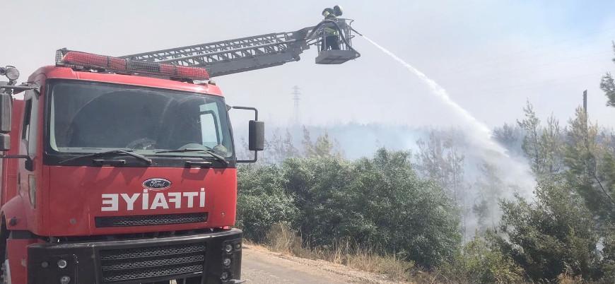TSK yangın söndürme çalışmalarına müdahil oldu