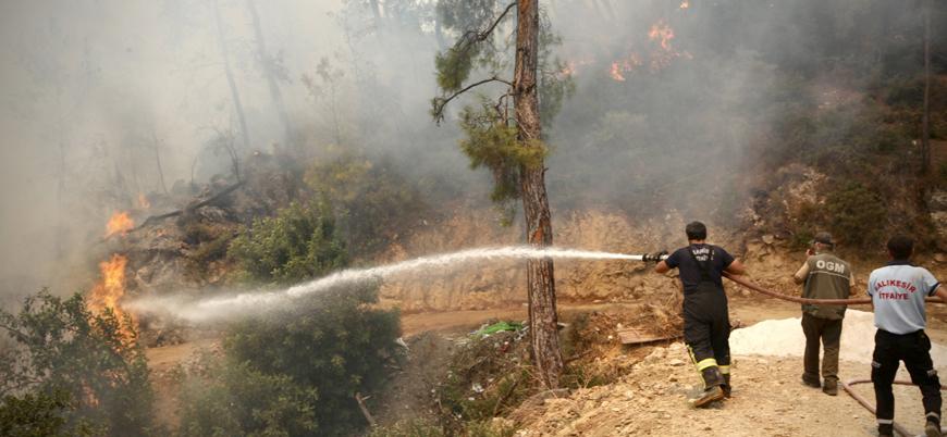 Türkiye'yi etkisi altına alan yangınlarda son durum