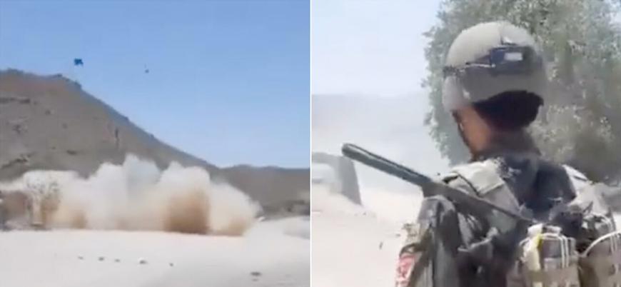Afganistan'da hükümet güçleri bir sivili bombanın üzerine oturtup havaya uçurdu