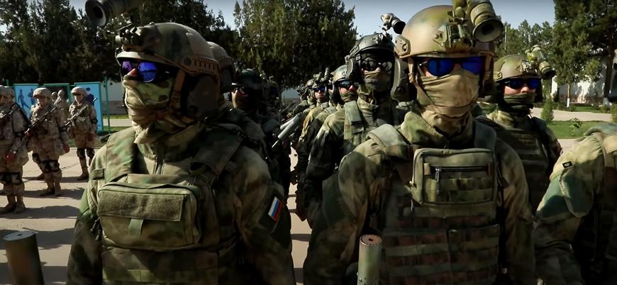 Rusya ve Özbekistan'dan Afganistan sınırında tatbikat