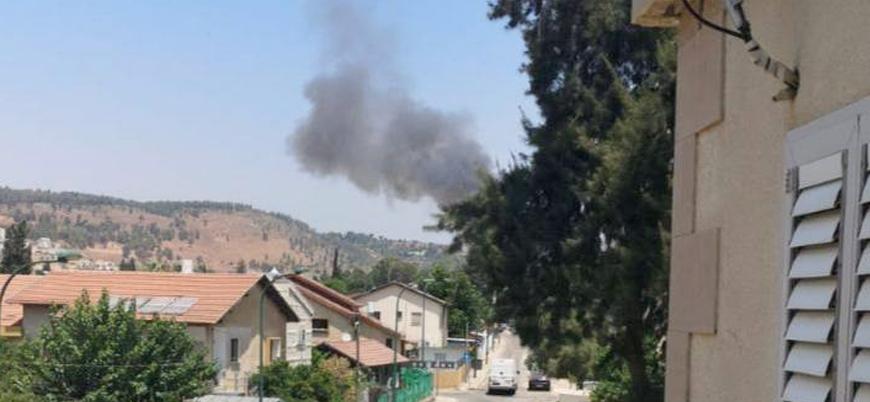 İsrail'in Lübnan sınırında roket saldırısı