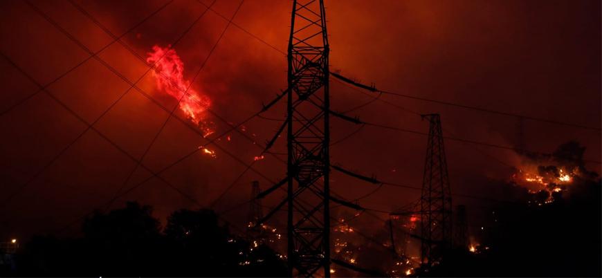 Orman yangınlarında 9. gün: Yangın termik santrale sıçradı
