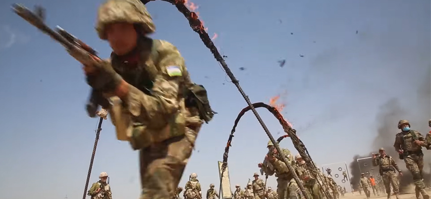 Rusya, Tacikistan ve Özbekistan'dan Afganistan sınırında tatbikat