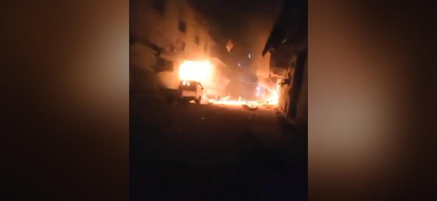 Fırat Kalkanı bölgesi El Bab'a roketli saldırı