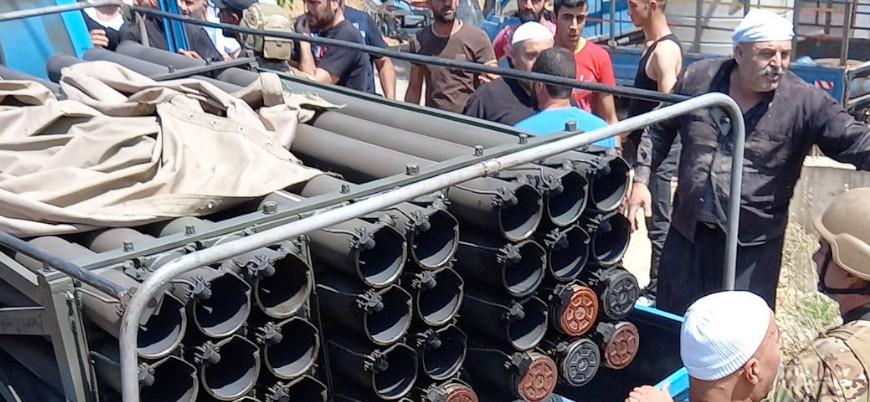 Hizbullah İsrail'i roketlerle hedef aldı