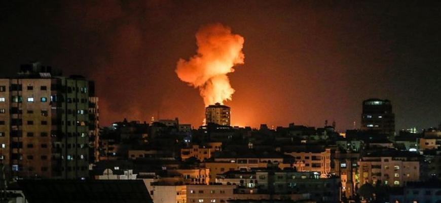 İsrail Gazze Şeridi'ne hava saldırısı düzenledi