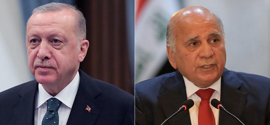 Cumhurbaşkanı Erdoğan Bağdat hükümeti Dışişleri Bakanı ile görüştü