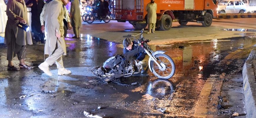 Pakistan'ın Kuetta şehrinde bombalı saldırı