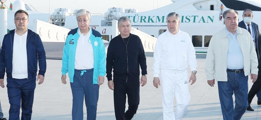 Orta Asya ülkeleri Afganistan'ı görüşmek üzere toplandı