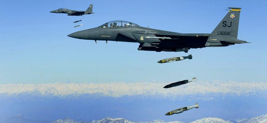 ABD, kapsamlı bombardıman için çok sayıda savaş uçağını Afganistan'a gönderiyor