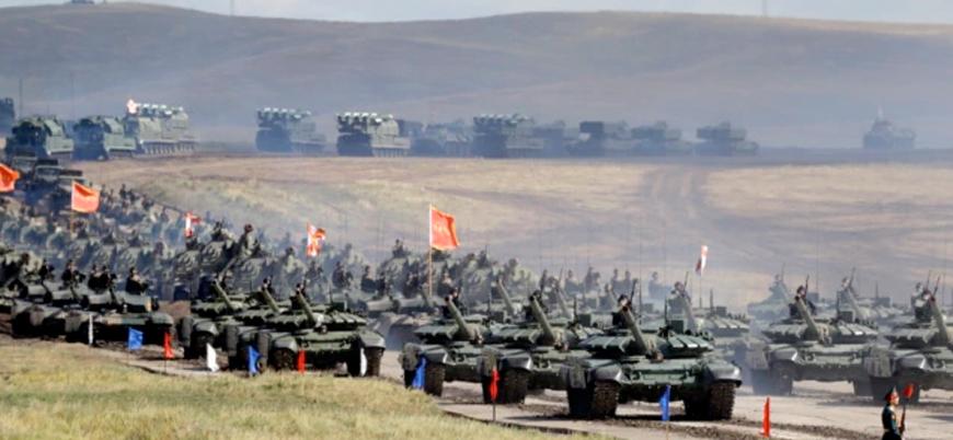 Çin ile Rusya'dan ortak askeri tatbikat