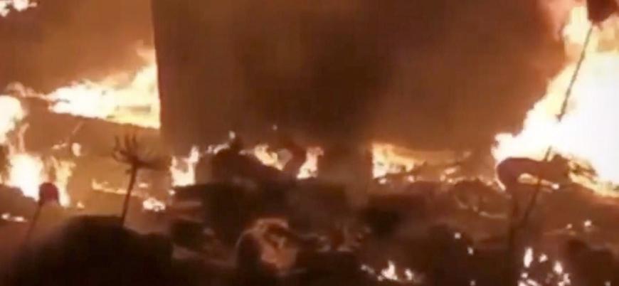 Lübnan'da akaryakıt tankeri patladı: 20'den fazla ölü, 79 yaralı