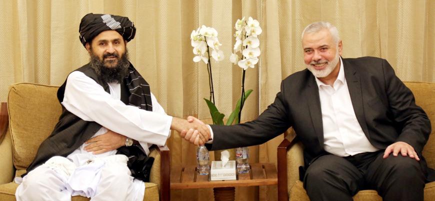 """Hamas'tan Taliban'a tebrik: """"Onlar bir örnek ve ilham kaynağı"""""""