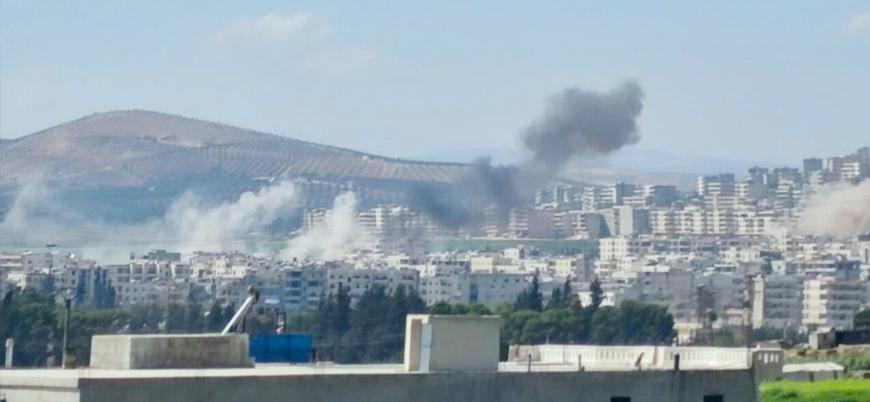 YPG Afrin'de sivil alanları bombaladı