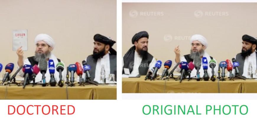 """""""Taliban'ı karalamak için hileli yöntemler kullanılıyor"""""""