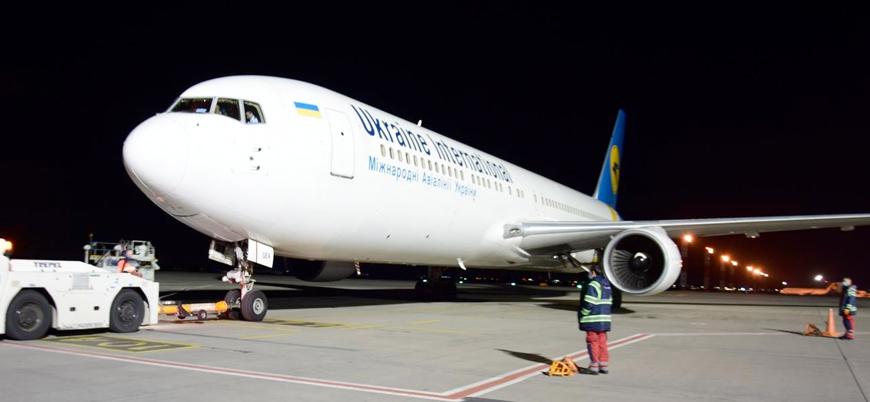 Vatandaşlarını Afganistan'dan tahliye eden Ukrayna uçağı İran'a kaçırıldı