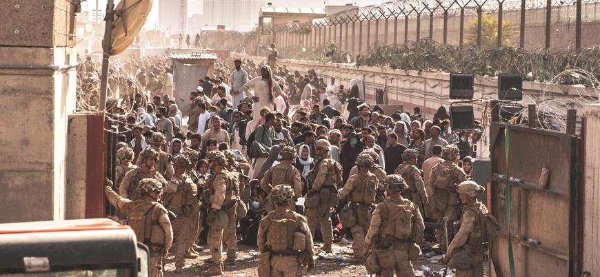 """""""Afganistan'dan son 24 saatte 21 bin kişi tahliye edildi"""""""
