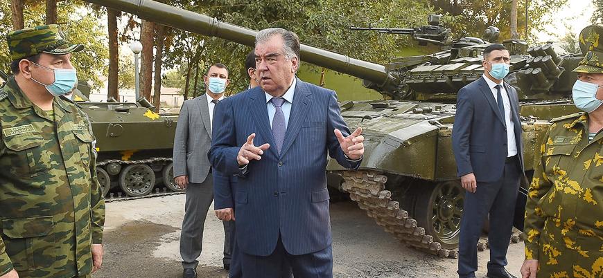 Tacikistan Afganistan'da Taliban iktidarından endişeli