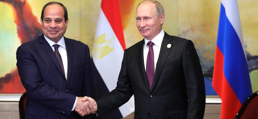 Mısır ile Rusya arasında askeri iş birliği