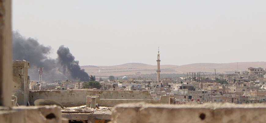Suriye: Rusya ve İran destekli Esed rejiminden Dera'ya ağır bombardıman