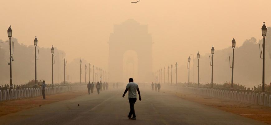 """""""Hava kirliliği Hindistan nüfusunun yarısına yakınının ömrünü 9 yıl azaltacak"""""""