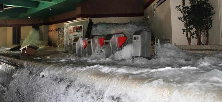 New York sular altında: Selden dolayı acil durum ilan edildi