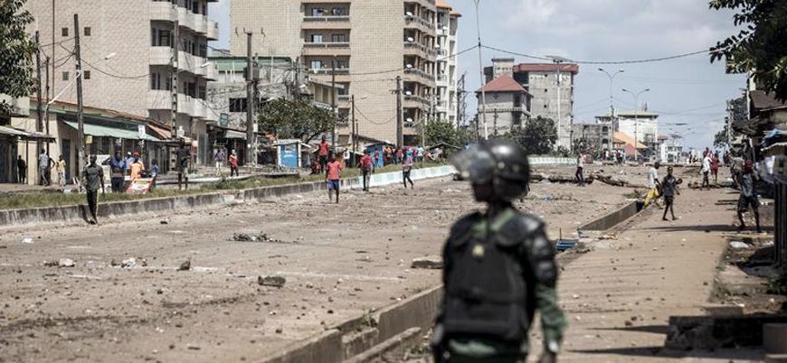 Gine'nin başkentinde şiddetli çatışmalar